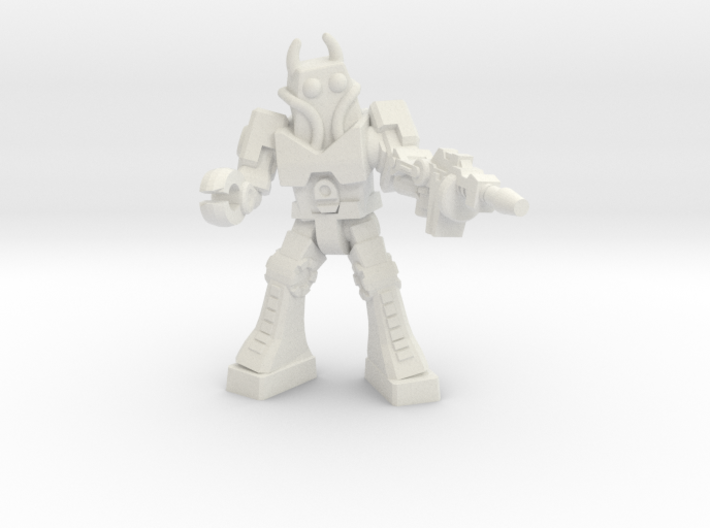 Waruder Battas Soldier, 35mm mini 3d printed
