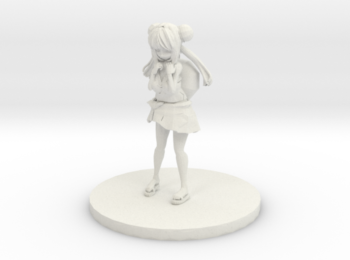 Anime Figurine inspired by Bulbasaur 3d printed