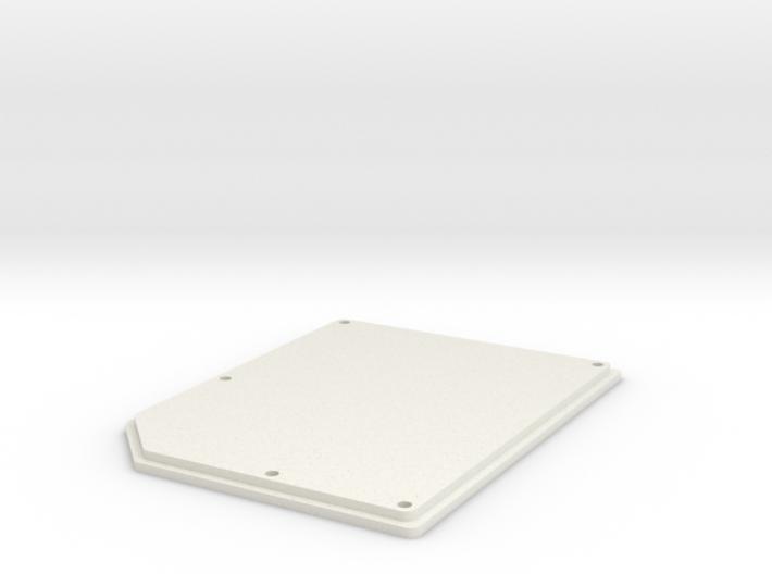 OpenBCI Box Lid 3d printed