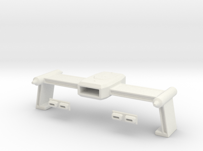NEW Tos Weapons Rollbar In 1-1000th Scale 3d printed