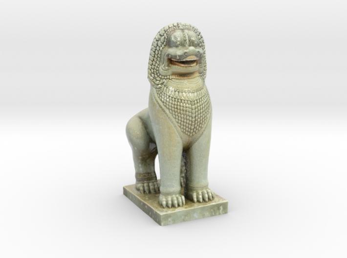 Guardian Lion 3d printed