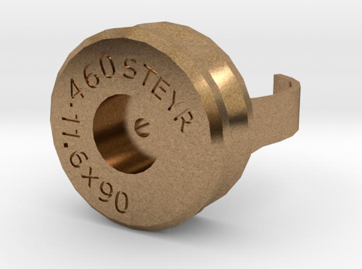 .460 Steyr case ring 3d printed