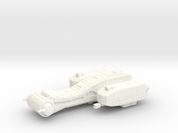 Dragonfly Gunboat 3d printed