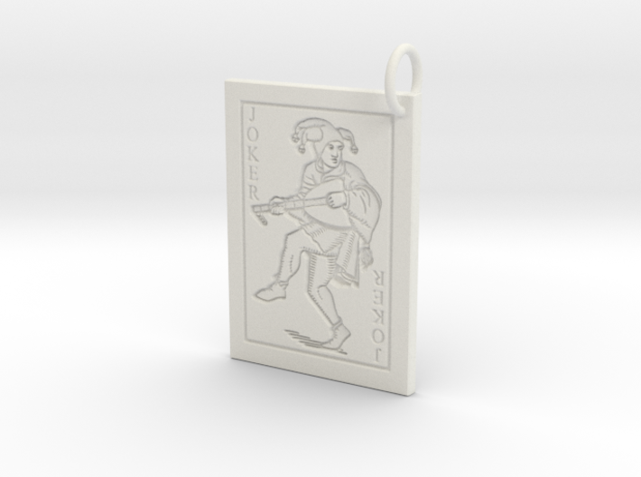 Joker Keychain/Pendant 3d printed