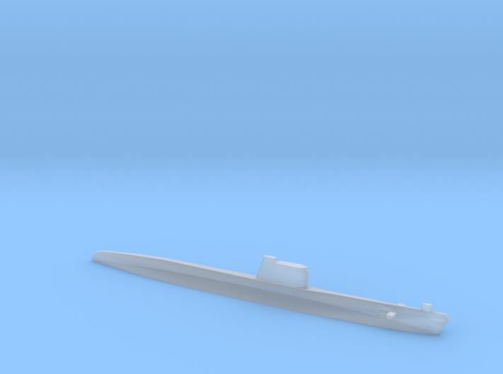 Foxtrot-class submarine, 1/2400 3d printed