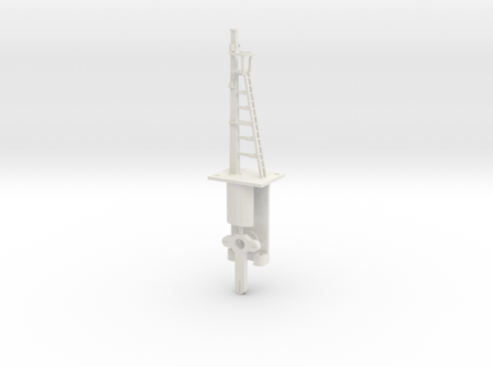 Signal 18 Ft Post HO NSWGR Lower Quadrant 3d printed
