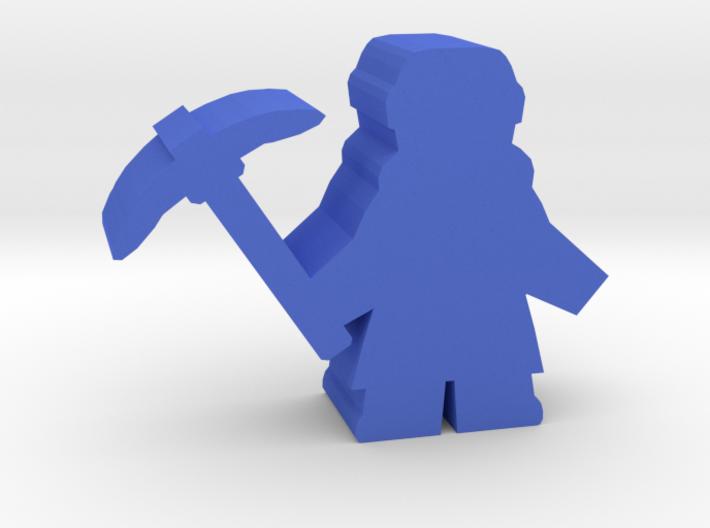 Game Piece, Dwarven Miner 3d printed