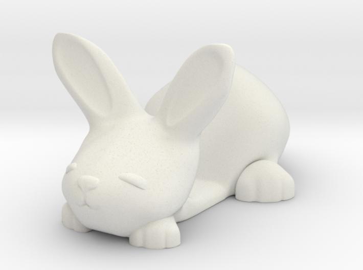 Smartphone holder - Tiny Bunny 3d printed