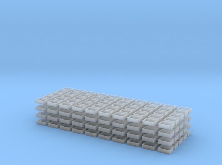 Crates 1-87 24eabottle 200easet 3d printed