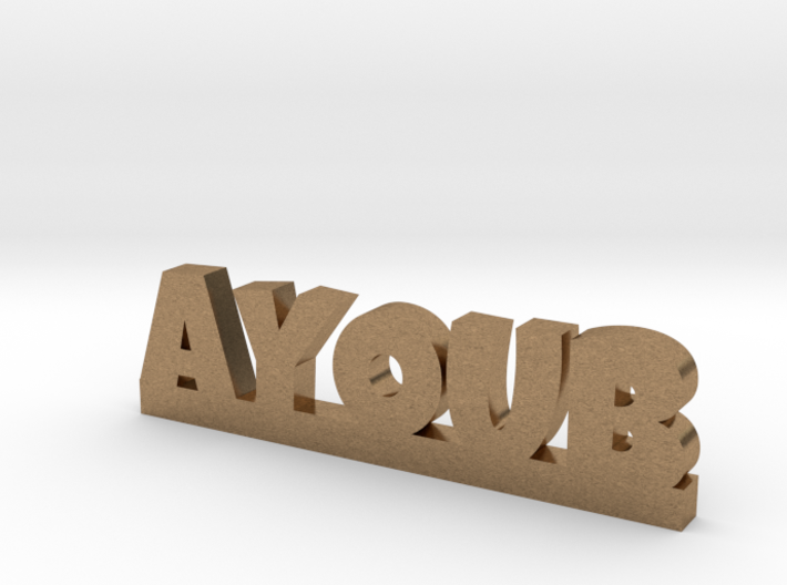 AYOUB Lucky 3d printed