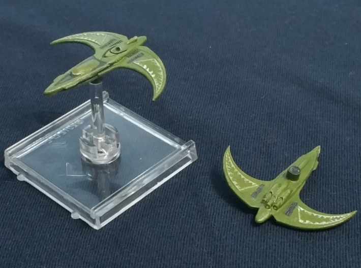 Orion Interceptor 1/3200 Attack Wing 3d printed The painted ships