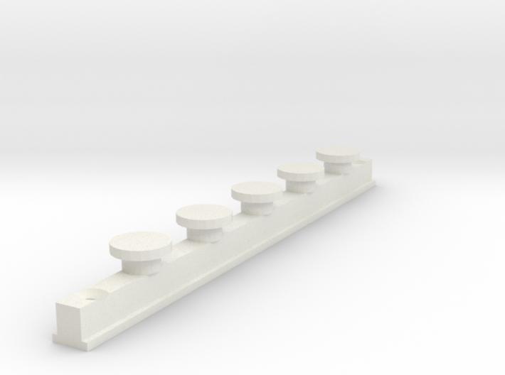 IKEA KVARTAL In Curtain Rail  V1 3d printed Design