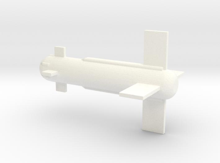 1/72 Scale NADC KAN-1 Little Joe SAM 3d printed