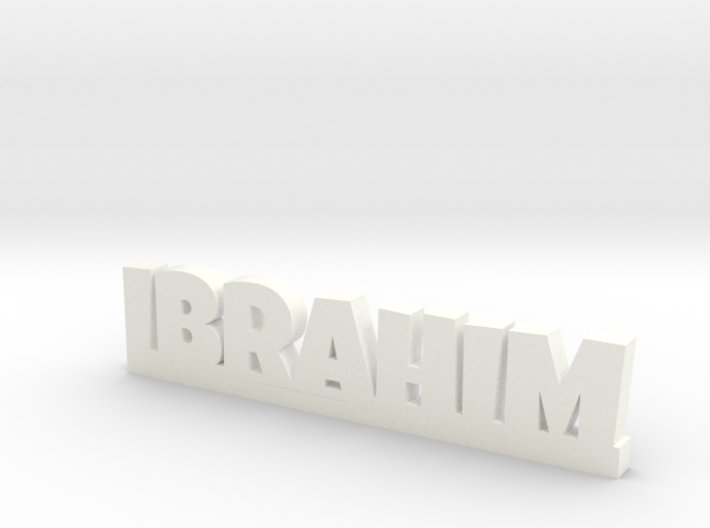 IBRAHIM Lucky 3d printed