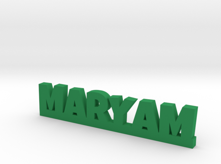 MARYAM Lucky 3d printed