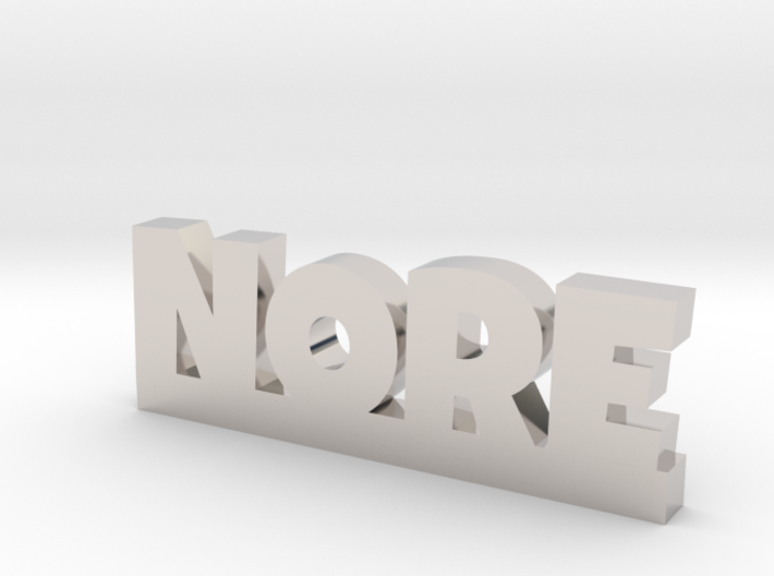 NORE Lucky 3d printed