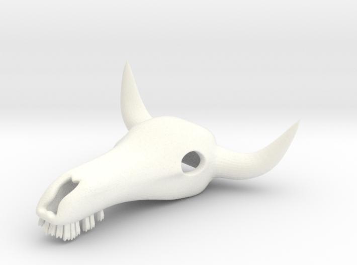 Bull Skull 3d printed