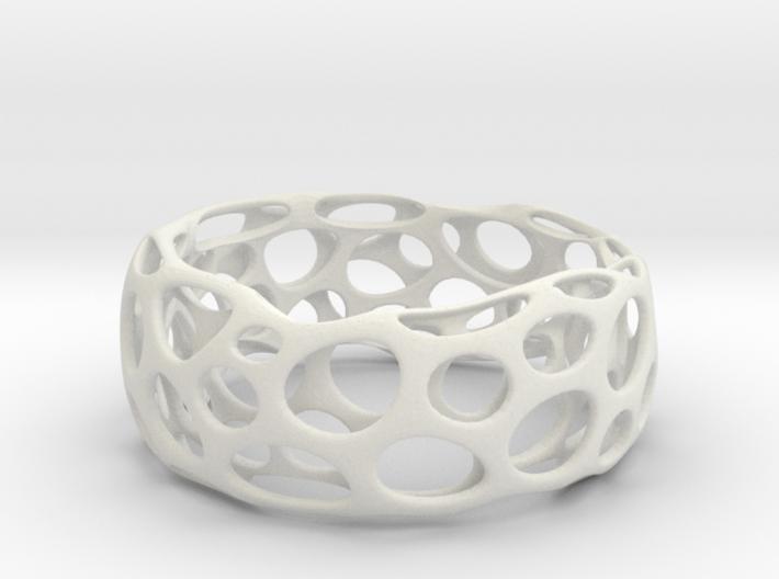 Convex Bracelet 3d printed