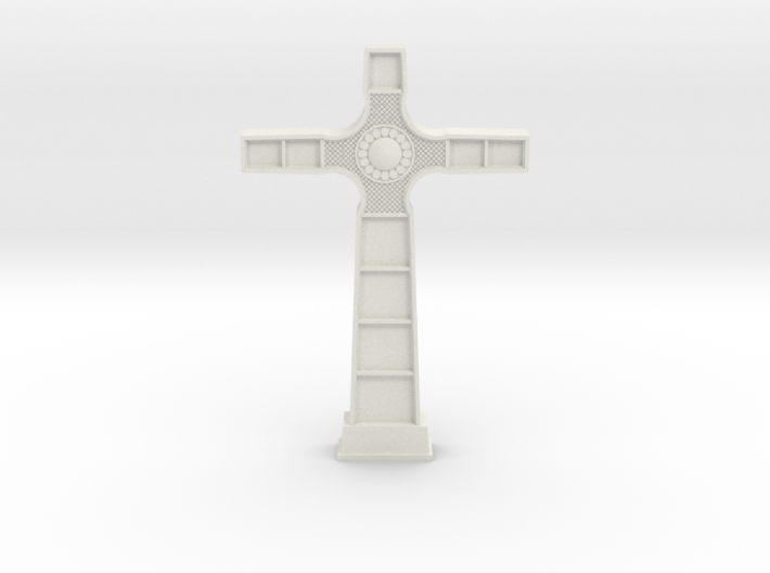 18th Century Cross 3d printed