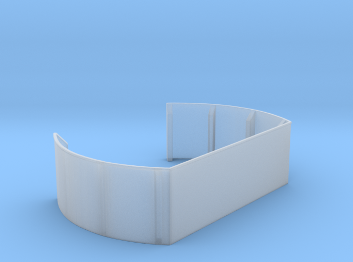 1/125 40mm Twin Midships Tub 3d printed