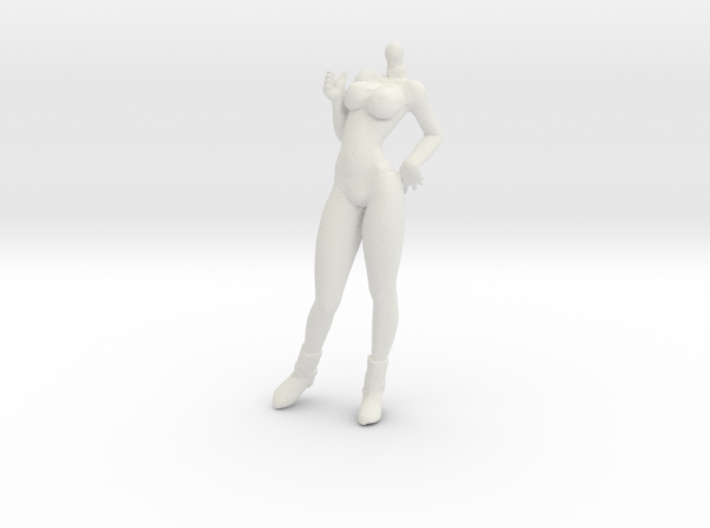 1/24 Race Queen Body Cheering Standing Pose 3d printed