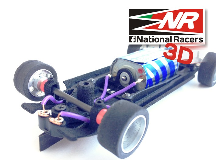 3D Chassis - Spirit VW Golf I (Inline) 3d printed