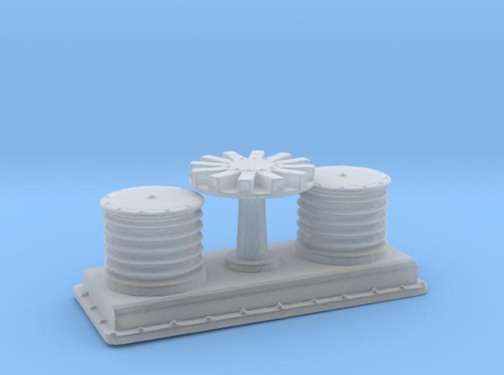 1/96 DKM Winch Forward 3d printed