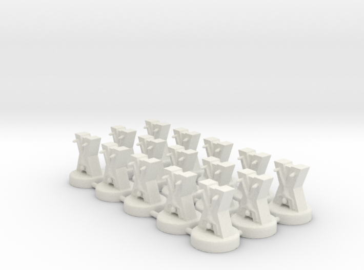 Game of Thrones Risk Pieces - Bolton 3d printed