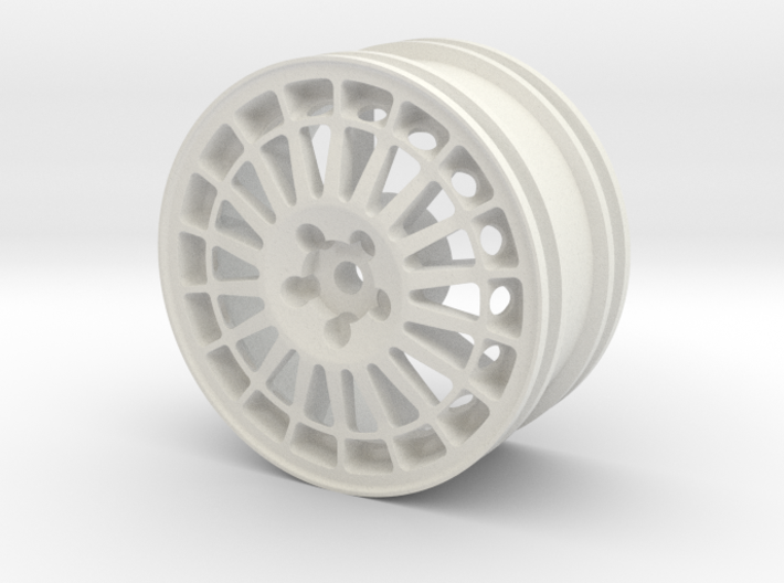 1993 Lancia Delta HF Integrale Evo 2 1/10th RC whe 3d printed