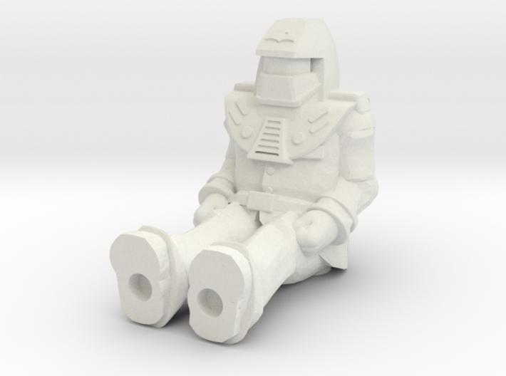 Miles Mayhem, Sitting 35mm Mini 3d printed