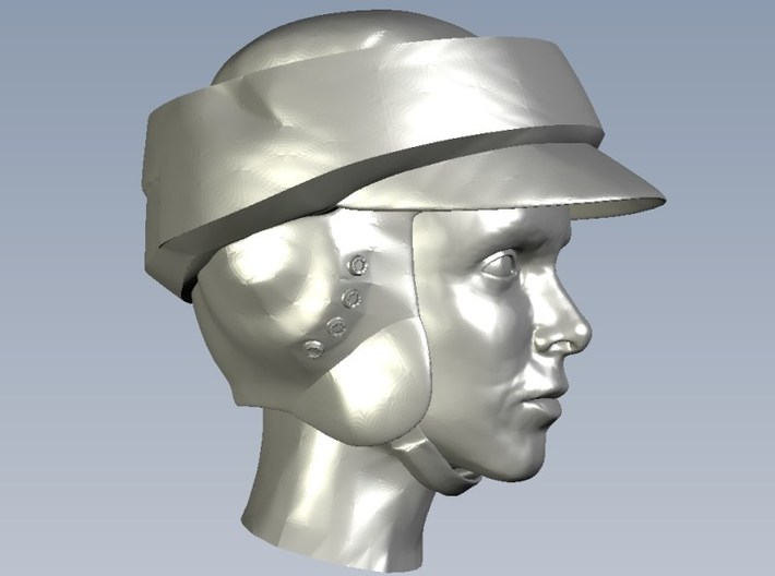 1/72 scale Star Wars rebel trooper heads x 5 3d printed