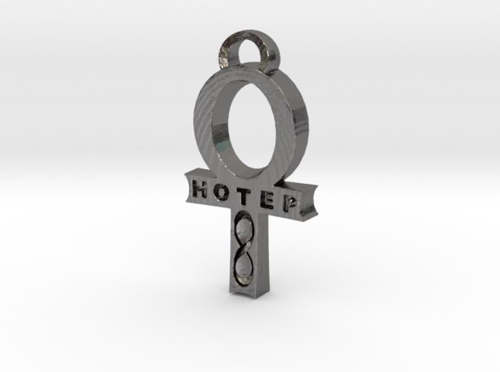 Hotep Ankh pendant 3d printed