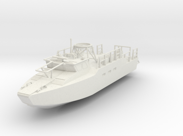 ~1/87 RCB Riverine Control Boat Full Hull ~ HO Sca 3d printed