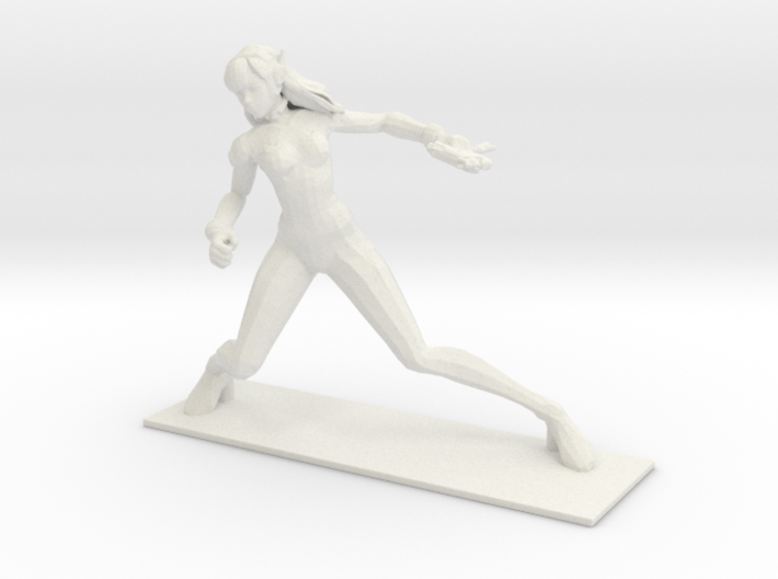 1/20 Female Driver Figure 3d printed