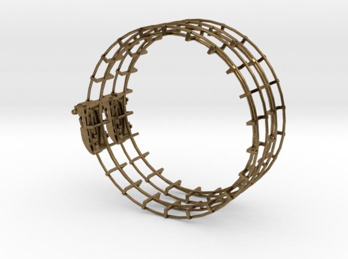 Roller Coaster Earring 3d printed