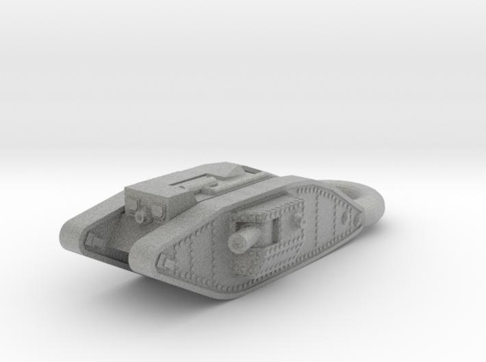 Mark 4 Male Heavy Tank KEYCHAIN 3d printed