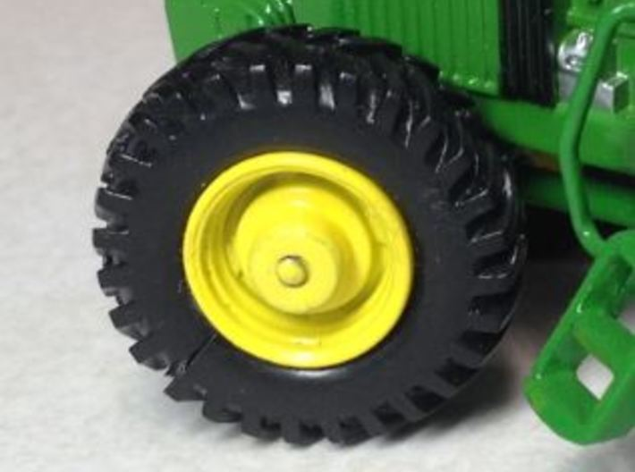 DETAILED MFWD AXLE 3d printed