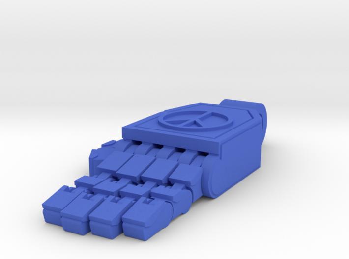 ROBOT PEACE HAND PENDANT 3d printed