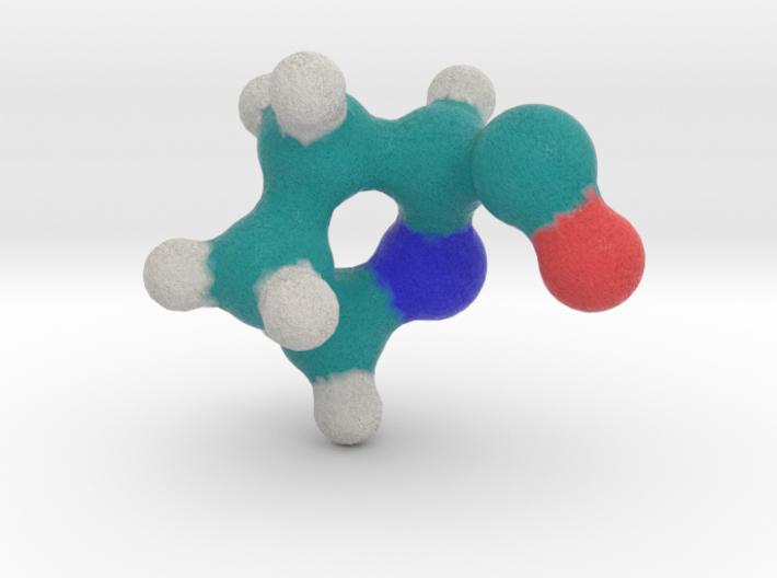 Amino Acid: Proline 3d printed