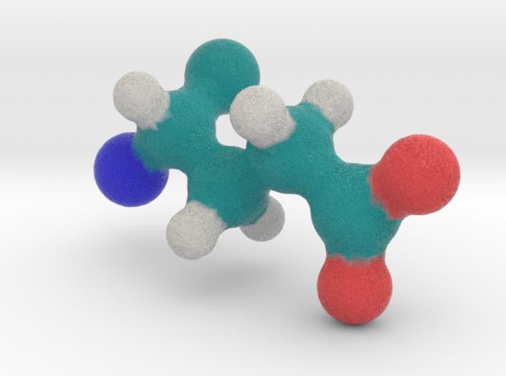 Amino Acid: Glutamate 3d printed