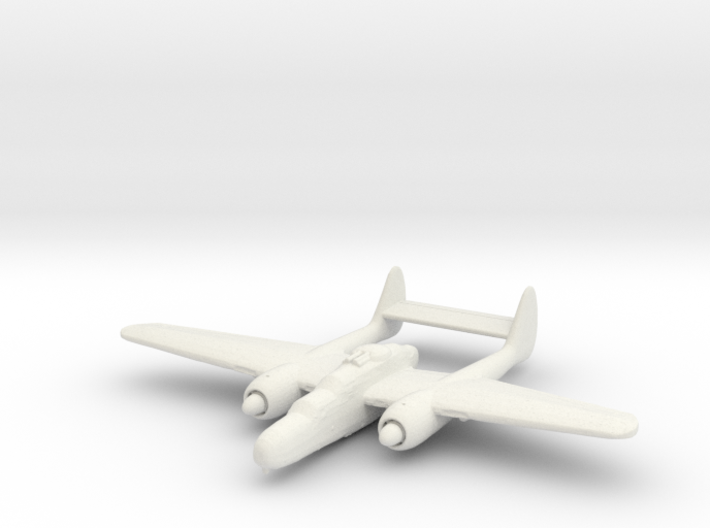Northrop P-61 'Black Widow' (with turret) 3d printed