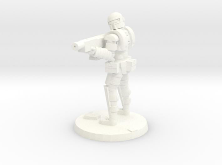 36mm Heavy Armor Trooper 2 3d printed