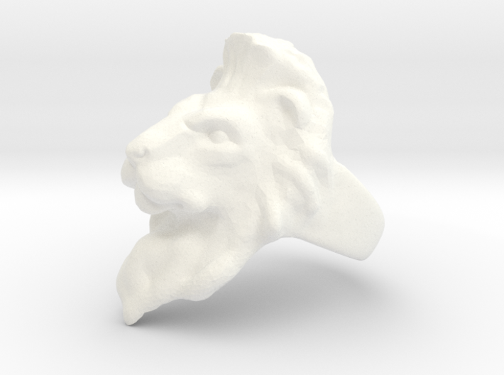 Lion Ring 19.82mm (size 10) 3d printed