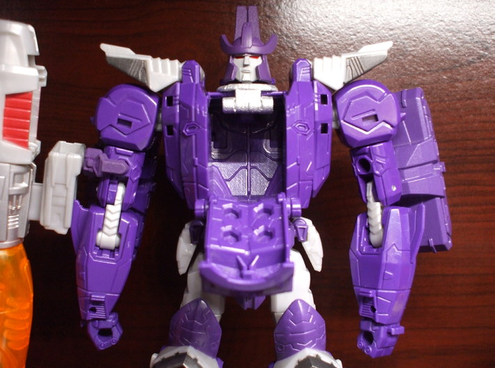 Alternate Head for Titans Return Galvatron 3d printed