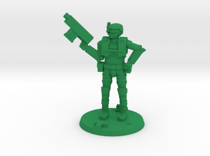 36mm Light Trooper 1 3d printed