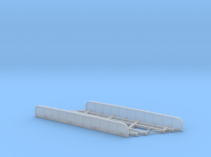 n-scale bridge Double Track Skewed Right 3d printed