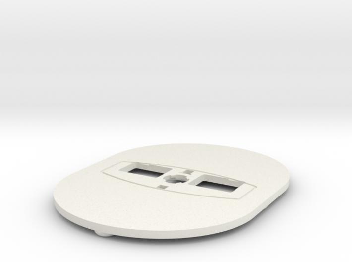 Theta Nadir Plate SC,S or V 3d printed