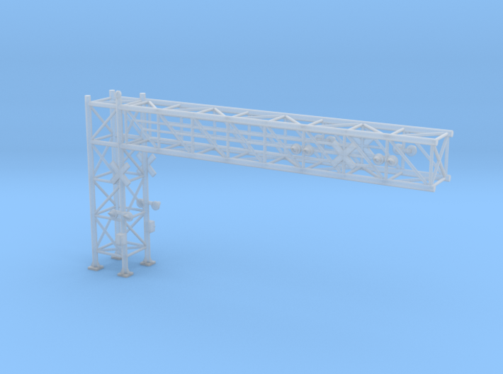 N Scale Crossing Gantry XL 3d printed