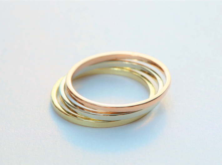 Ring Inner Diameter 17.0mm 3d printed