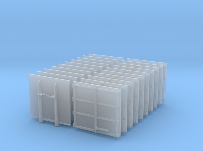 Frontplatte AB-KFZversorgung 10x 3d printed